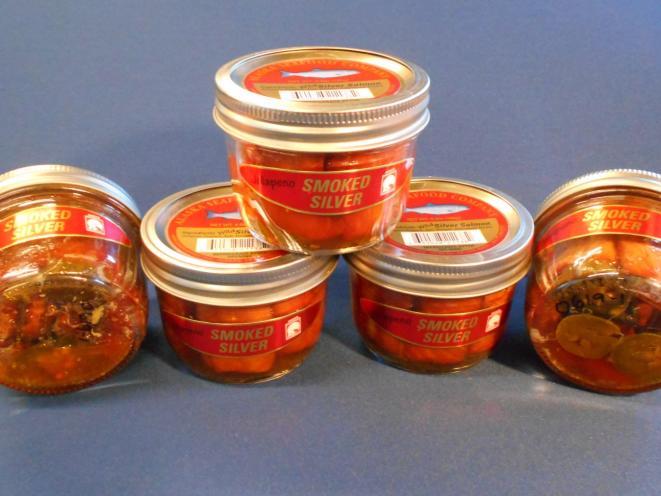 Coho (Mild) Jalapeno Jars