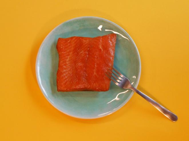Hot Smoked Coho (Silver) Salmon