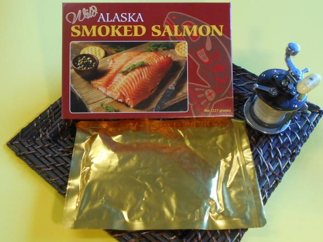 Smoked Pacific Salmon 8 oz Gift Box
