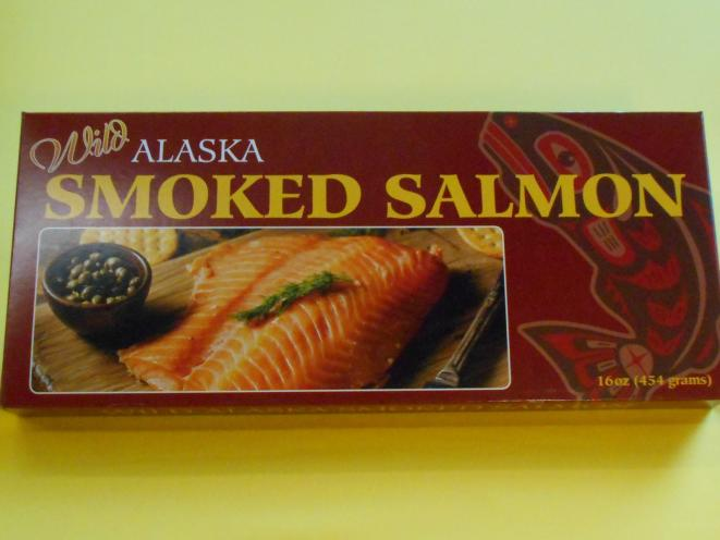 Smoked Pacific Salmon Fillet 16 oz Gift Box