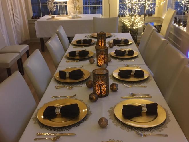 Dinner in December