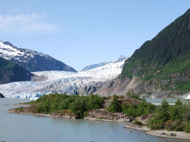 Glacier and Nugget Falls