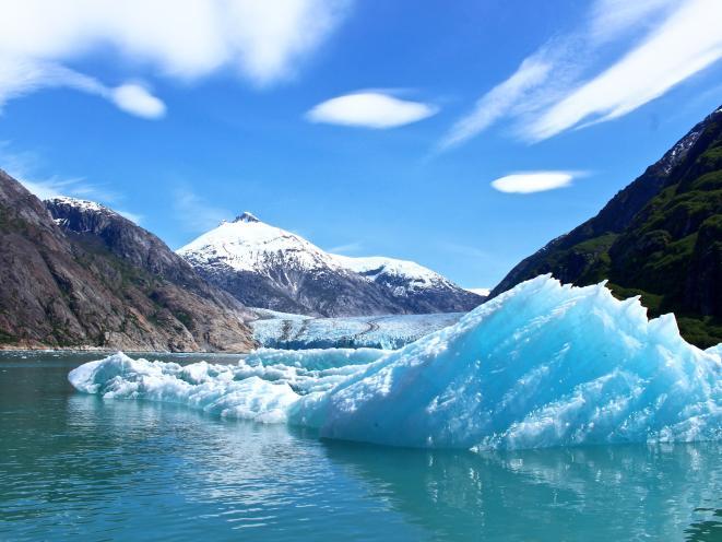 Blue Sky & Glacier Viewing