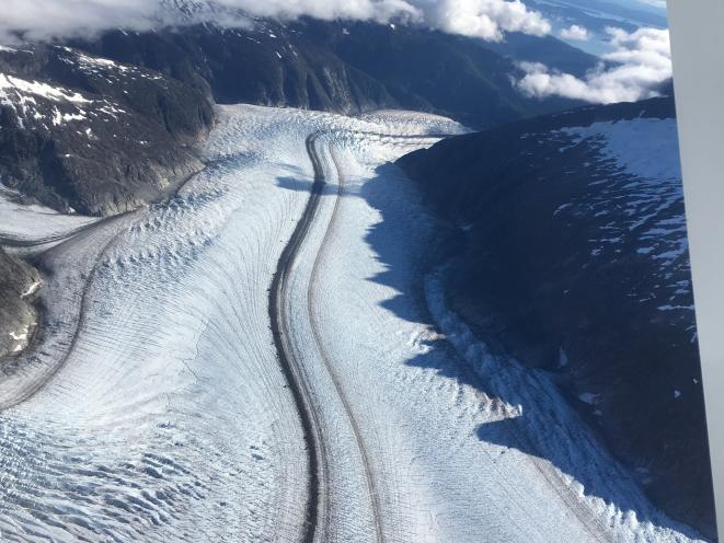 Herbert Glacier Moraine