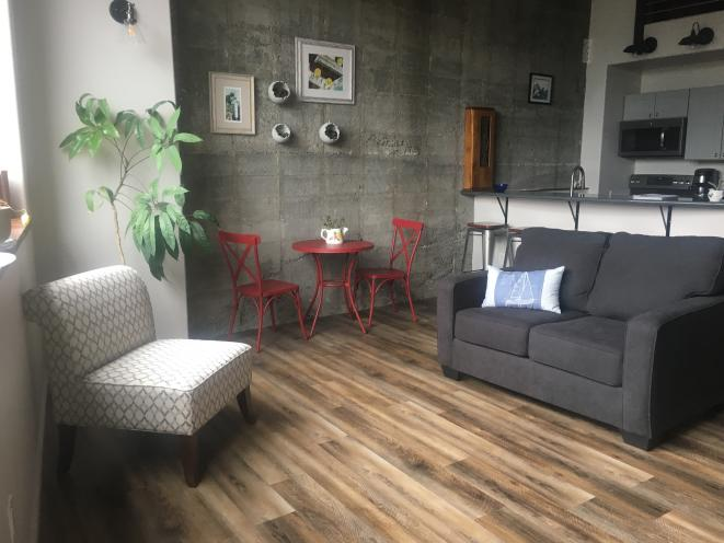 Living area in 301