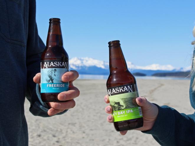 Alaskan Brewing Bottles