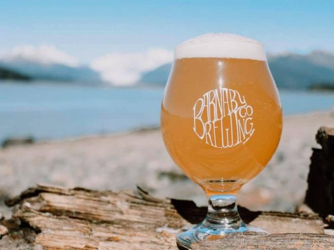 Barnaby Brewing on the Beach