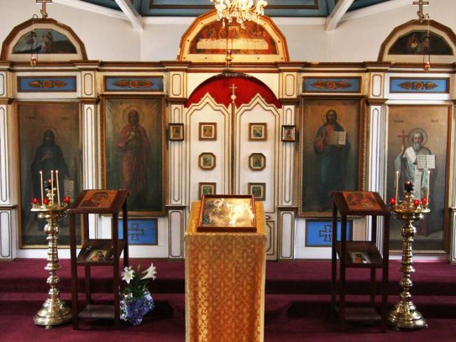 Iconostasis of St. Nicholas