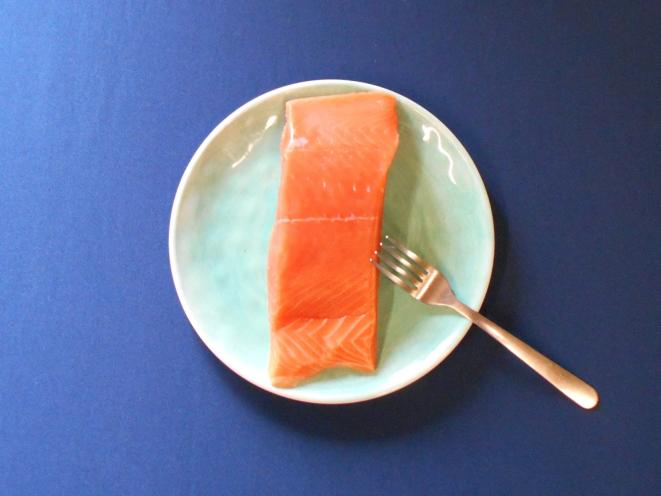 Frozen Fresh King Salmon