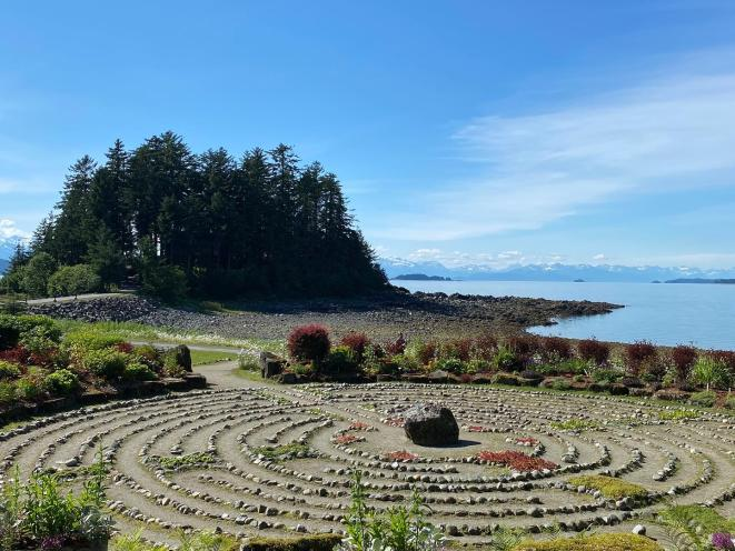 Labyrinth at the Shrine of St. Therese