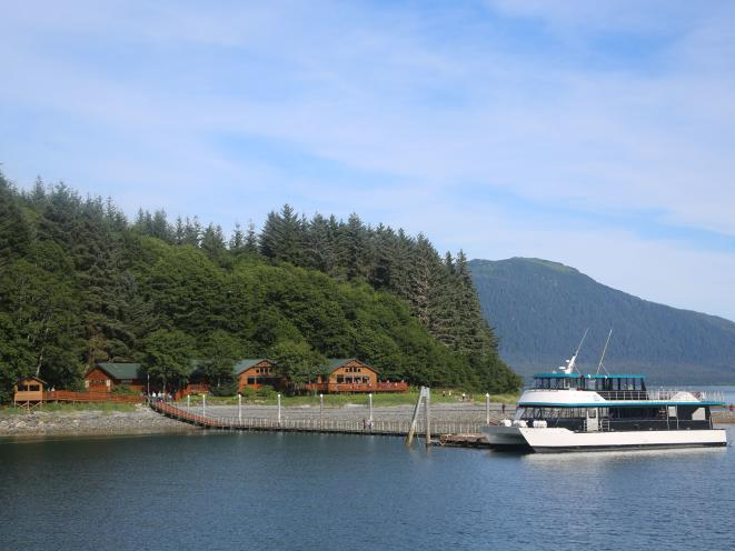 Orca Point Lodge - Dock View
