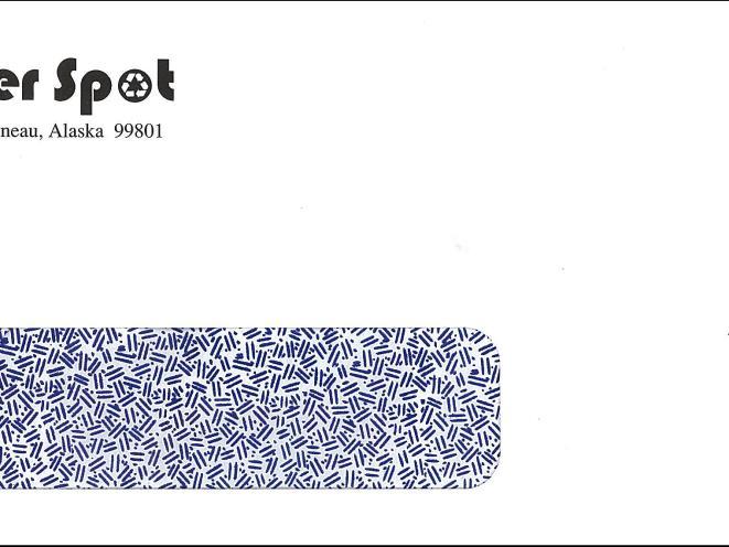 Paper Spot Envelope