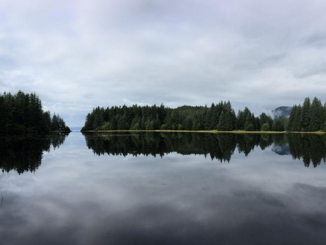 Juneau's favorite fly fishing spot!