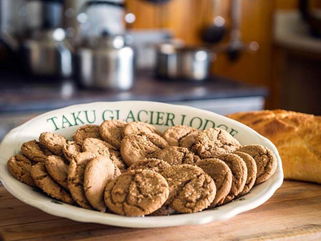 Taku Lodge cookies