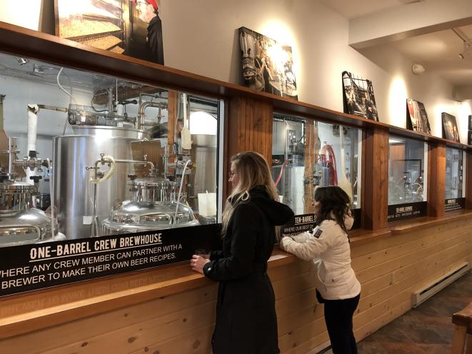 Brewery Tour Hall