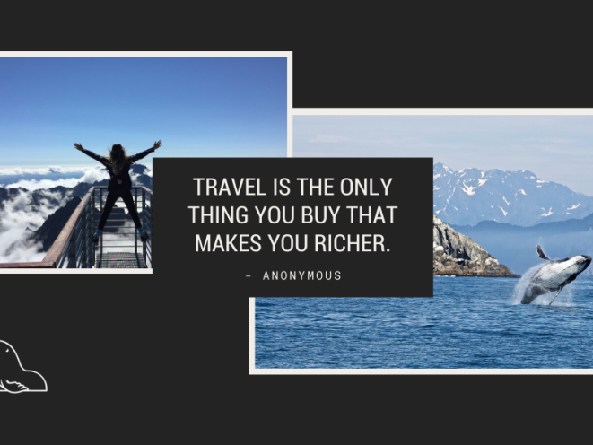 Buing travel makes you richer