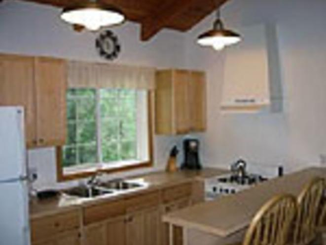 Cabin interior - kitchen