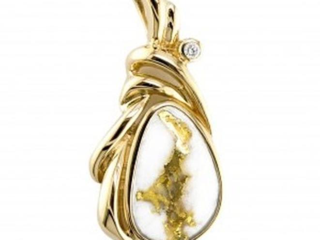 Alaskan Gold Necklace