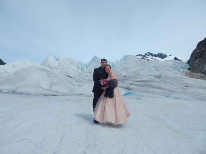 Juneau Glacier Wedding