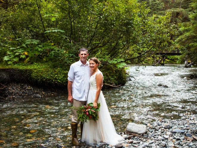 Kelsey & Chris - Montana Creek