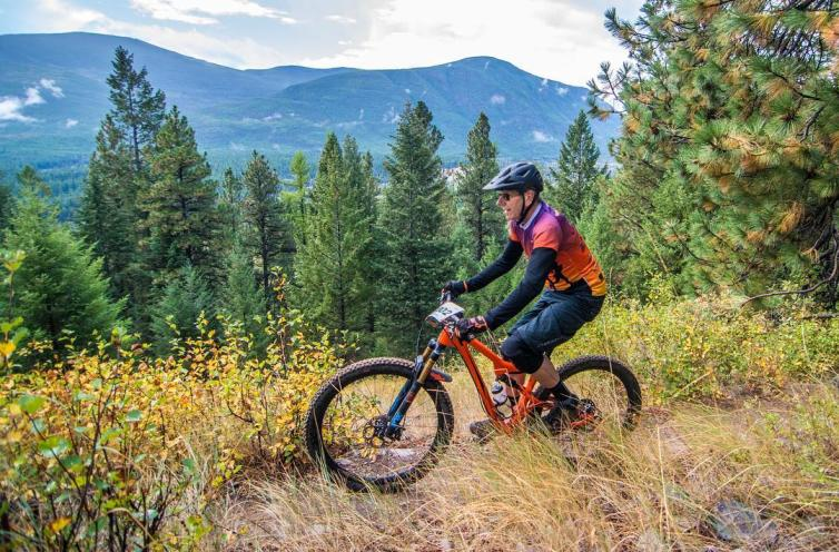 55+ Games - Mountain Biking