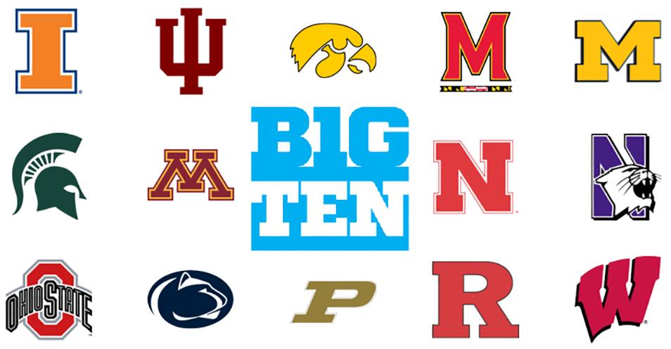 Big Ten schools