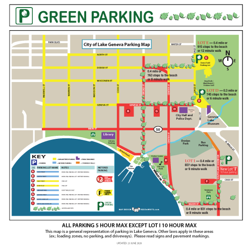 City of Lake Geneva Parking Map_2020_06