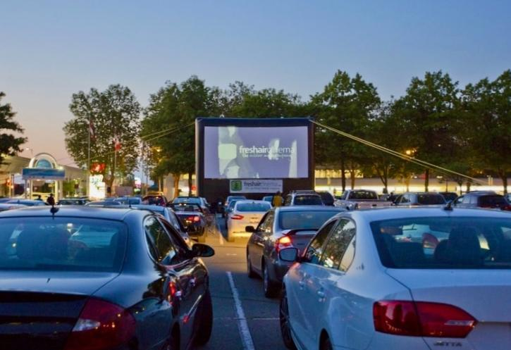 Starlight Theatre Drive-in Movie Series - Photo: Freshair Cinema