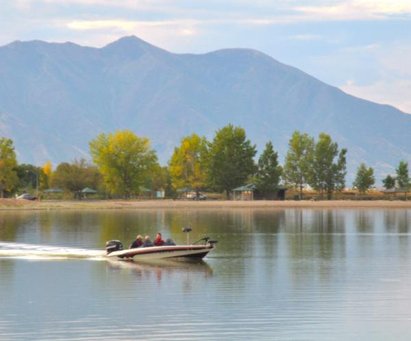 Utah Lake Boating