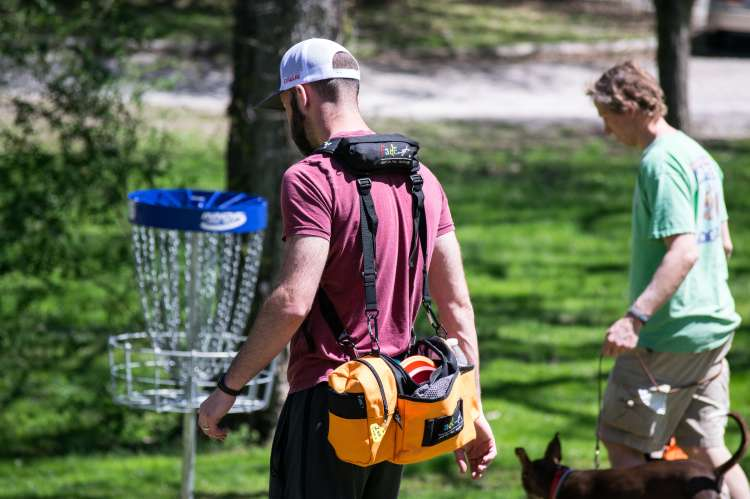 Disc Golf at Woodland
