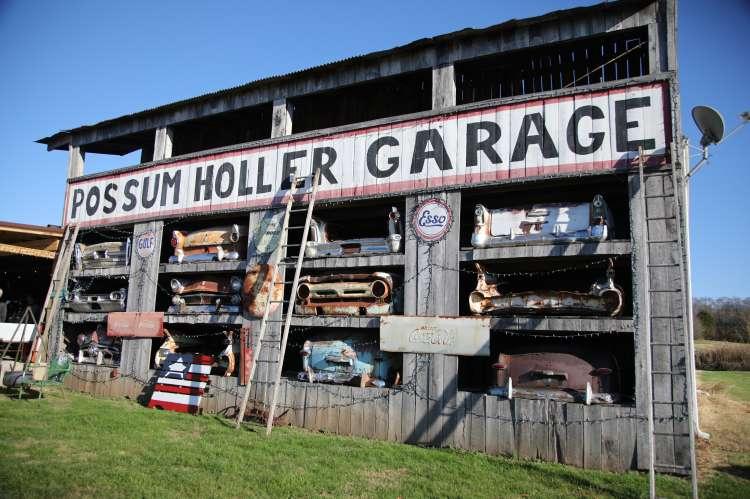 Possum Holler Garage