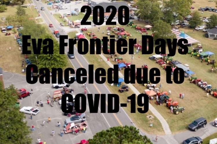 Frontier Days Canceled
