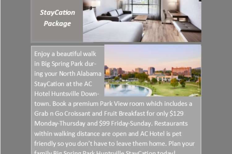 StayCation Package AC Hotel