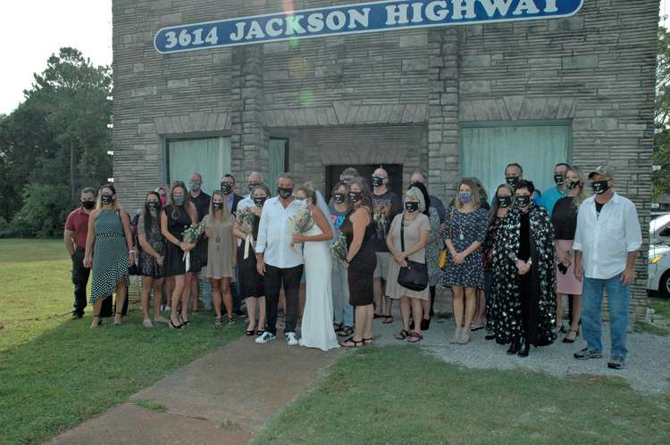 Muscle Shoals Sound Wedding