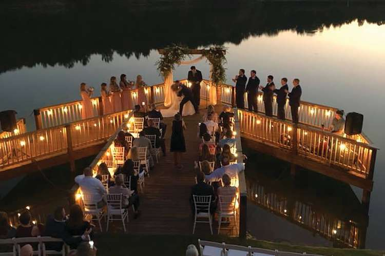 Hurricane Creek Lodge Wedding