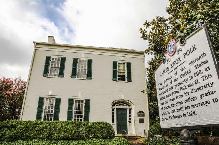 President James K. Polk Home