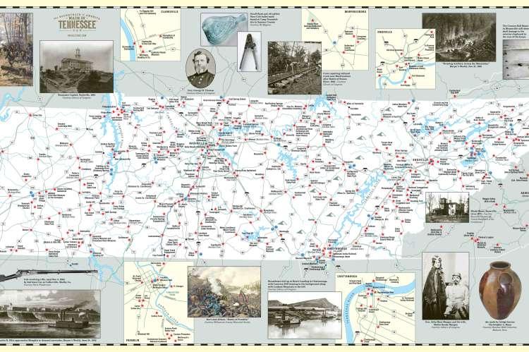 Tennessee Civil War Trails Map pdf