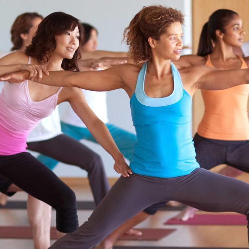 Unwind with a fitness class at YogaWorks