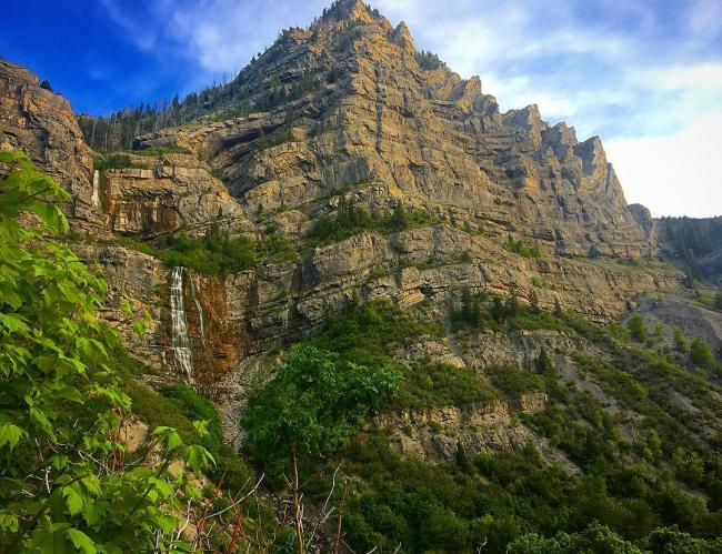 7 Natural Wonders of Utah Valley - Bridal Veil Falls