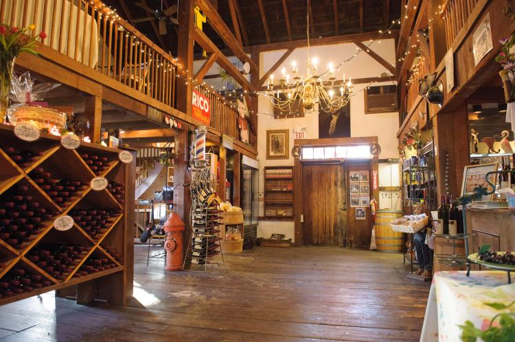 Inside New Hope Winery