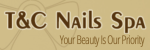 T&C Nails spa logo