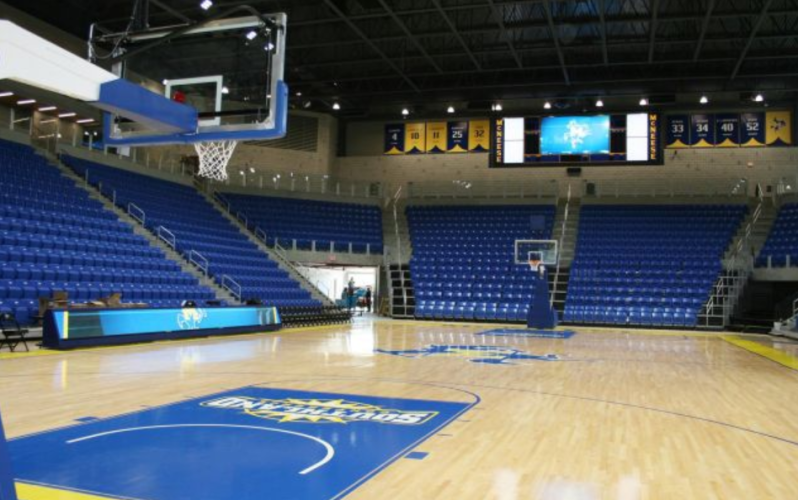 McNeese Arena Basketball Court