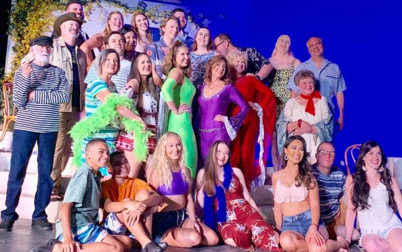 Mamma Mia Cast at Acts