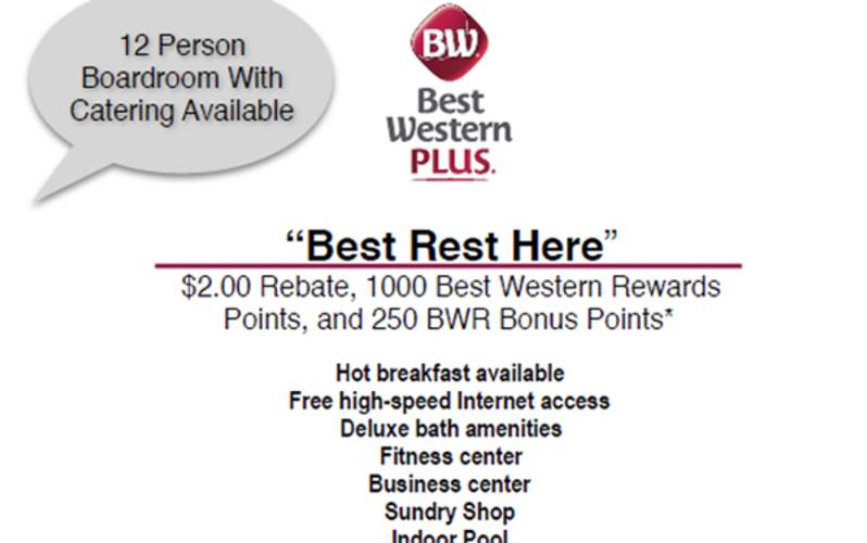 Best Rest Here Rebate Plus Points