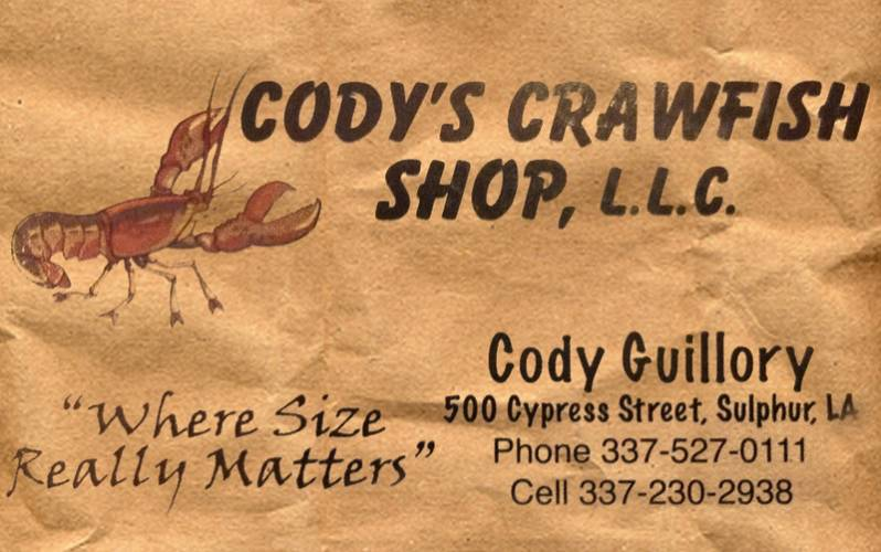 Cody's Crawfish Shop