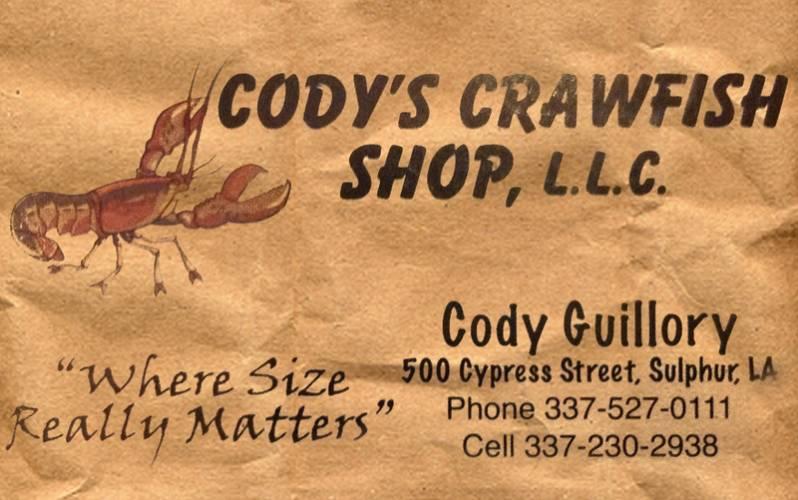 Cody's Crawfish Shop