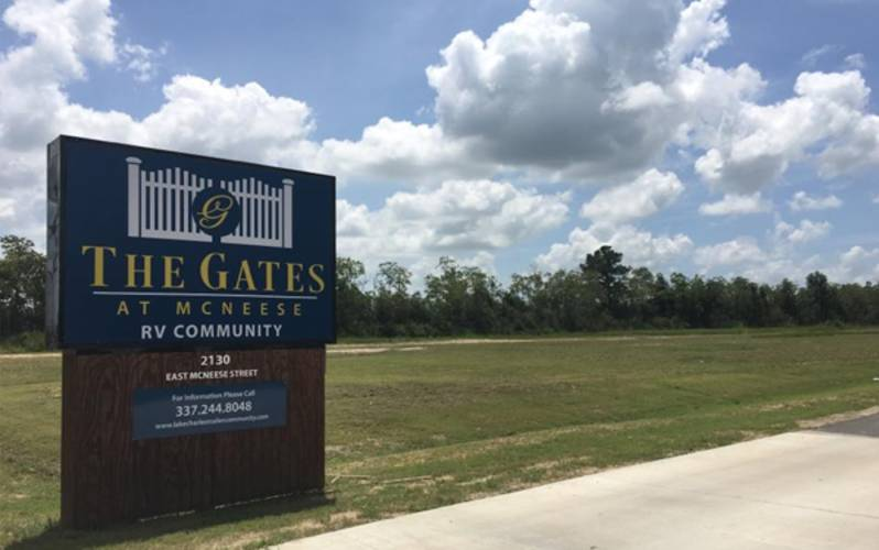 Gates at McNeese