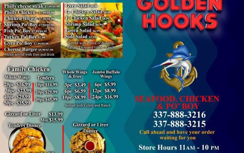 Golden Hooks