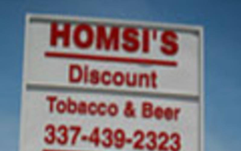 Homsis tobacco and beer