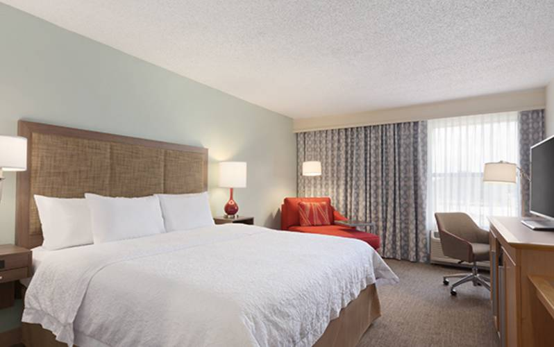 Hampton Inn by Hilton Sulphur-Lake Charles Area - 1 King Bed with Microwave - 1148238